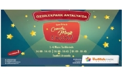 Enver Ertaş ile Comedy Magic Show ÖzdilekPark Antalya'da