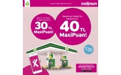 BP'de Maximum'a 40 TL'ye Varan MaxiPuan!