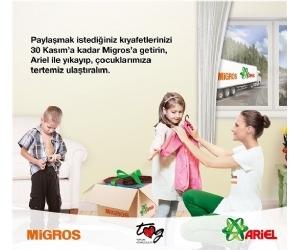 Ariel ve Migros 10 Bin Çocuğu 10 Bin Yepyeni Kıyafet İle Mutlu Etti 97