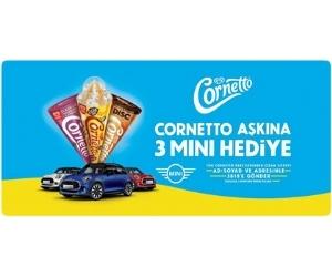 Cornetto çekiliş 2020 mini cooper
