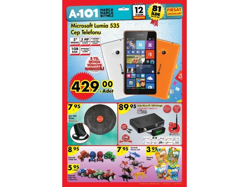 A101 12 Kasım 2015 - 1