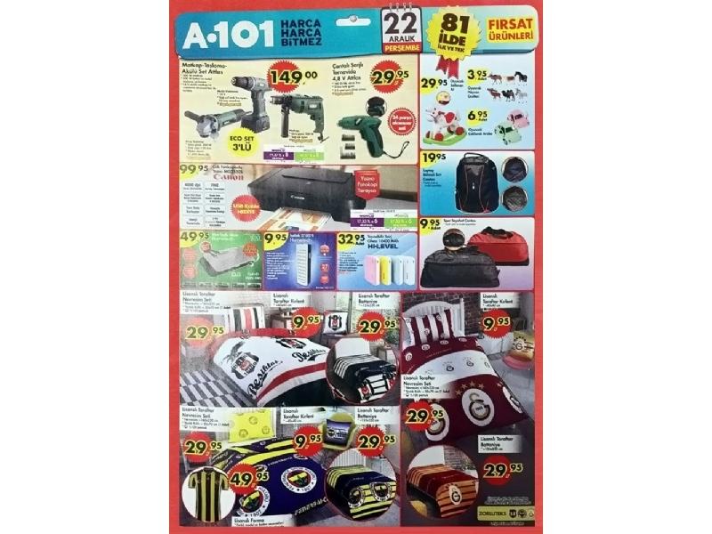 A101 22 Aralık Fırsat Ürünleri - 1