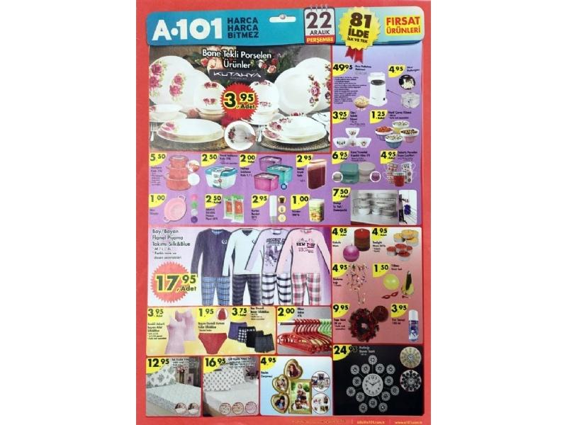 A101 22 Aralık Fırsat Ürünleri - 2