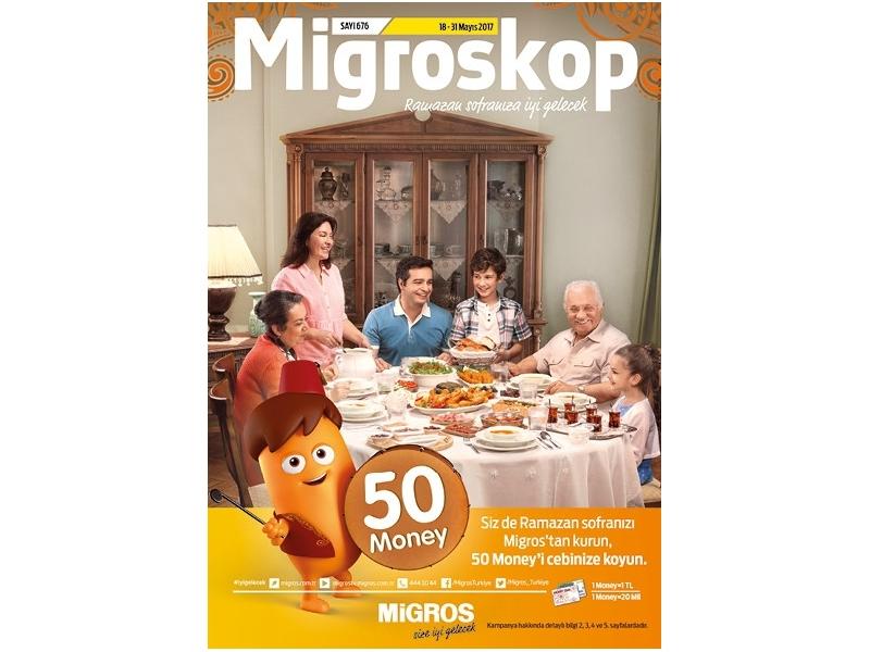 Migros 18 - 31 Mayıs Migroskop - 1