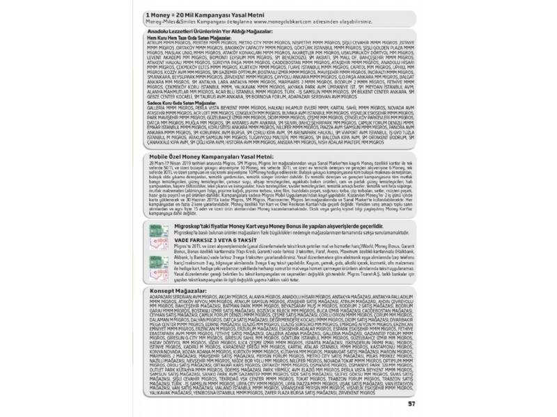 Migros 28 Mart - 10 Nisan Migroskop - 57