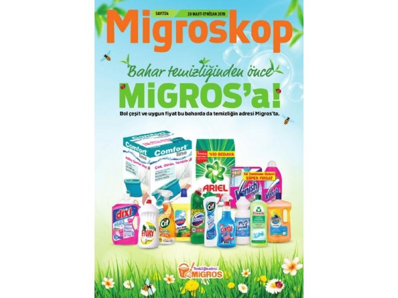 Migros 28 Mart - 10 Nisan Migroskop - 1