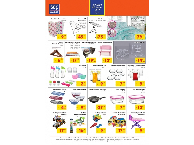 Seç Market 27 Mart - 2 Nisan Kataloğu - 4