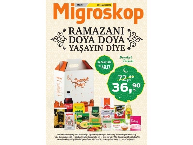 Migros 16 - 29 Mayıs Migroskop Dergisi - 1