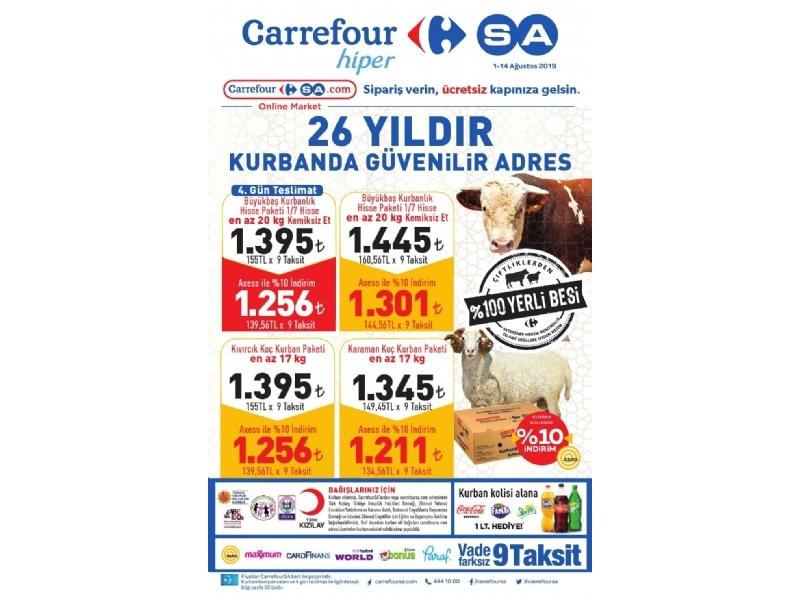 CarrefourSA 1 - 14 Ağustos Kataloğu - 1