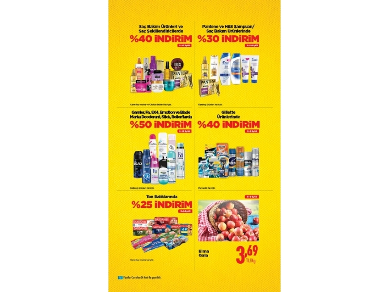 CarrefourSA 6 - 12 Eylül İndirimleri