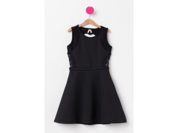 Sırt Detaylı Genç Kız Elbise 49,99 TL
