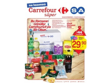 CarrefourSA 18 - 31 Mayıs Kataloğu - 1