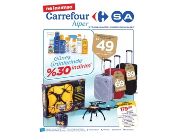 CarrefourSA 15 Temmuz - 2 Ağustos Kataloğu - 1