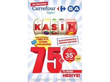 CarrefourSA 16 - 29 Kasım Kataloğu - 1