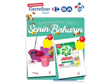 CarrefourSA 29 Mart - 11 Nisan Kataloğu - 1