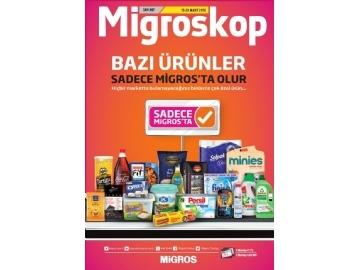 Migros 29 Mart - 11 Nisan Migroskop - 1