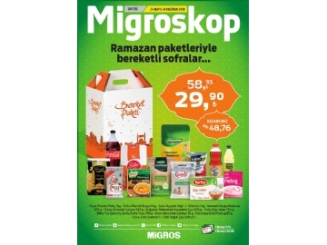 Migros 24 Mayıs - 6 Haziran Migroskop - 60