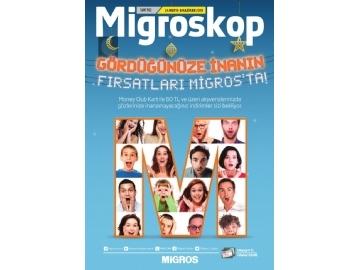Migros 24 Mayıs - 6 Haziran Migroskop - 1