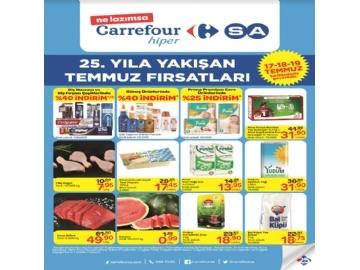 CarrefourSA 25. Yıl Temmuz Broşürü