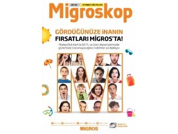 Migros 19 Temmuz - 1 Ağustos Migroskop - 1