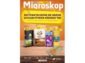 Migros 13 - 26 Eylül Migroskop - 1