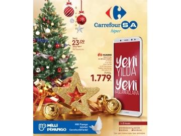 CarrefourSA Yılbaşı Kataloğu 2018 - 1