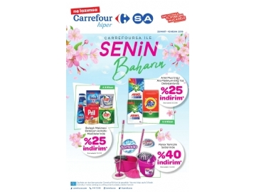 CarrefourSA 28 Mart - 10 Nisan Kataloğu - 1