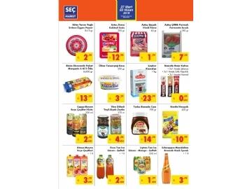 Seç Market 27 Mart - 2 Nisan Kataloğu - 2