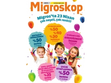 Migros 23 Nisan Kampanyası 2019 - 1