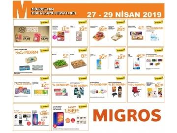 Migros Hafta Sonu 27 - 29 Nisan