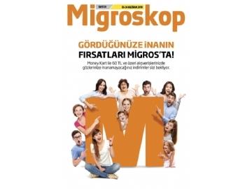 Migros 13 - 26 Haziran Migroskop - 1