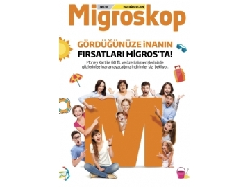 Migros 15 - 28 Ağustos İndirimleri - 1