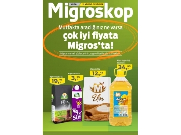 Migros 29 Ağustos - 11 Eylül Migroskop - 1