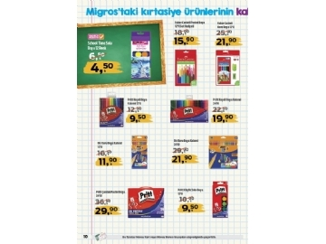 Migros Kırtasiye Ürünleri 2019 - 10