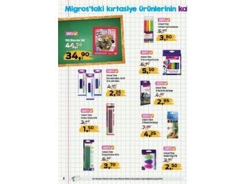 Migros Kırtasiye Ürünleri 2019 - 2