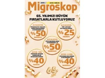 Migros 65. Yıl İndirimleri - 1