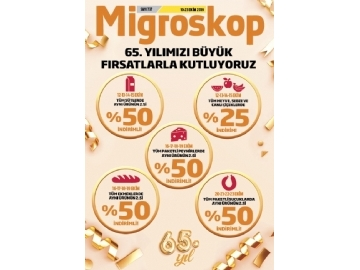 Migros 10 - 23 Ekim Migroskop Dergisi - 1