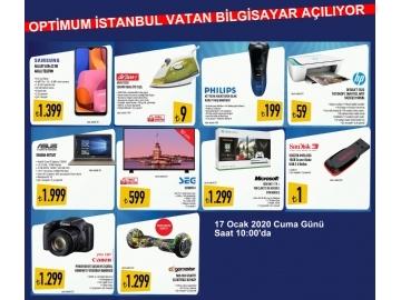 İstanbul Optimum Vatan Bilgisayar Broşürü