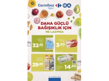 CarrefourSA 6 - 14 Nisan Kataloğu - 1