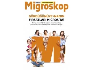 Migros 28 Mayıs - 10 Haziran Migroskop - 50
