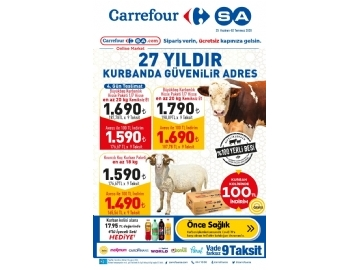 CarrefourSA 25 Haziran - 2 Temmuz Kataloğu - 1