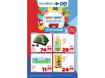 CarrefourSA 4 - 11 Ağustos Kataloğu - 1