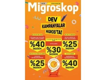 Migros 21 Ocak - 3 Şubat Migroskop - 1