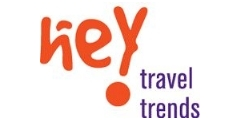 Hey Travel Logo