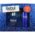 Rebul Sport Erkek Parfüm Gift Set EDT 100 ml + Deodorant 150 ml + 50 ml Roll-on