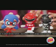 Burger King - Power Ranger ve Miraculous Oyuncakları